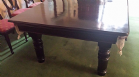 8ft solid mahogany Snooker Dining Table
